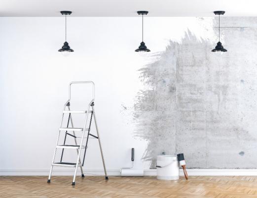 travaux peinture intérieure